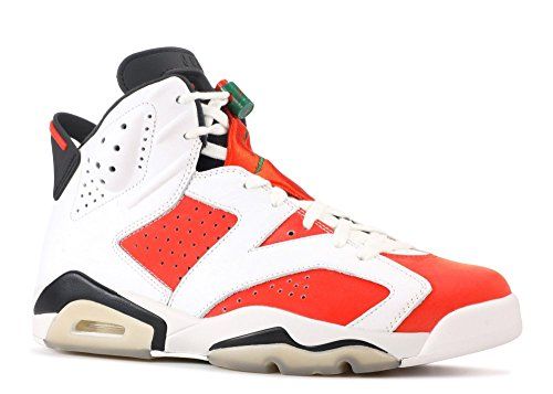 e181cf543eda UPC 888412310814. NIKE AIR Jordan 6 Retro Mens Fashion-Sneakers  bstn 384664-145 7.5 - Summit White Team Orange-Black