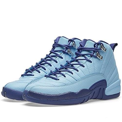 brand new c2a97 df013 Air Jordan 12 Retro GG Big Kids Shoes Blue CapDark Purple 510815-418 (6.5  M US)