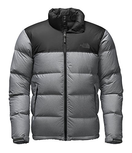 The North Face NEW Black Gray Mens Size Large L Down Puffer Jacket d4be03320