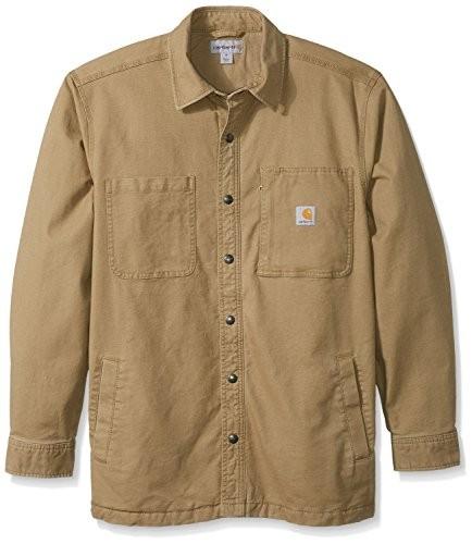 1b646f2575 Carhartt Men s Rugged Flex Rigby Shirt Jac