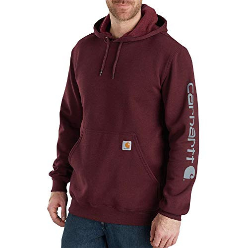 953045acb53 UPC 889192865037 | Carhartt Men's Midweight Signature Sleeve Logo ...