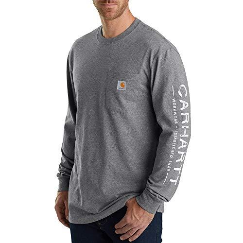 e400dbffcc7 UPC 889192894648. Carhartt Men s 103303 Workwear Core Graphic Long Sleeve T- Shirt ...