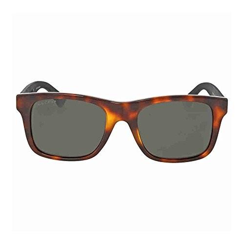 dbc8a82d65 Gucci Anti-reflective GG0008S-006-53 Black Square Sunglasses