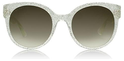 f7b9d8d536f UPC 889652050706. Gucci 0035S 007 Silver 0035S Round Sunglasses Lens ...