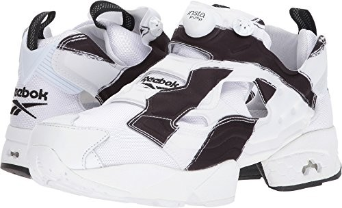 dd584a69d386 Mens Reebok Instapump Fury Overbranded White Black AR1413