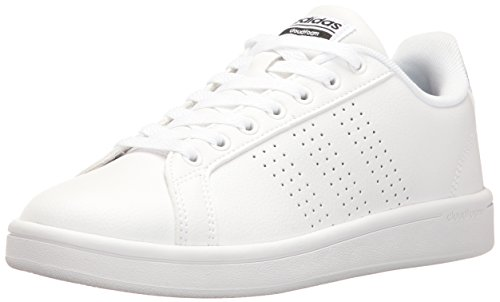 adidas Women s Shoes Cloudfoam Advantage Clean Sneakers white White Black 506ef65ce