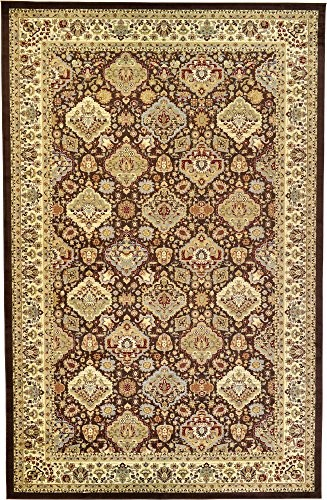 Upc 889919013277 Unique Loom Agra Collection Brown 11 X 16 Area